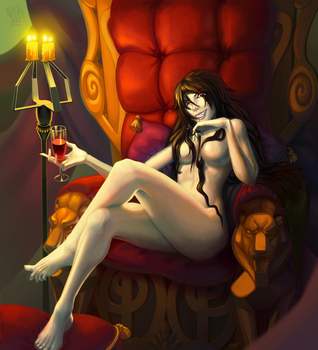 Vampire in the chair by Jahary