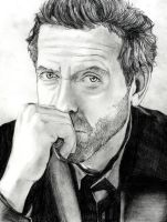 Portrait of Dr House by twilight-girl22