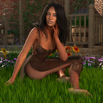 In the grass by Sparrow3D