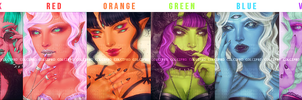 Demon Lineup by Calcipurr
