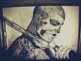 Zombie boy by Tedi1302