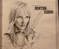 Beatrix Kiddo by Zusacre