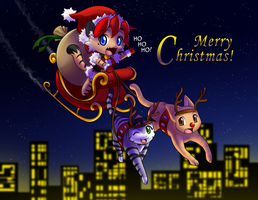 Christmas 2010 by freelancemanga