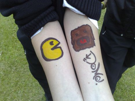 will evans pacman + domo by stevewad