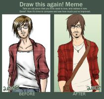 2008 vs 2013 by ChibiKinesis