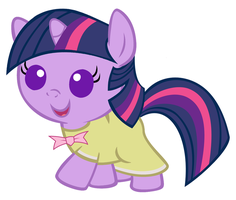 Baby Twilight's Birthday Dress by Beavernator