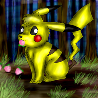 Pikachu by racingwolf