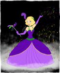 Mardi Gras Princess by elizabethbluecatfish