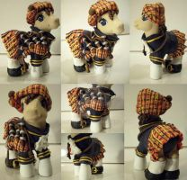 My little Pony Custom Scotland by BerryMouse