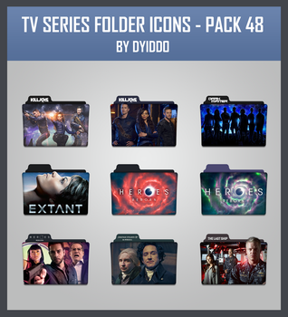 TV Series Folder Icons - Pack 48 by DYIDDO