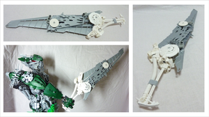 Bionicle Tool - Icicle Buster 2.0 - slim version by Alex-Darkrai