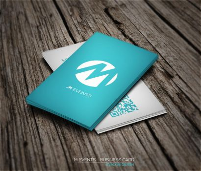 Business card by EVALYSEgraphics