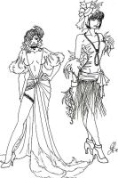 Project Runway: Rejected Ideas by ArtSquirrel