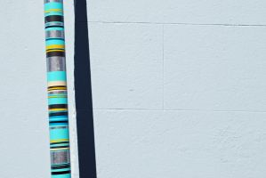 Pole and wall, Sydney by dpt56
