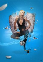 Angel by kevinarya
