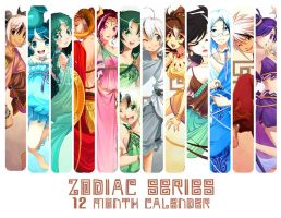 Greek Zodiac Calender by zetallis