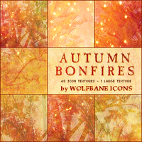 Autumn Bonfires Texture Set by jordannamorgan