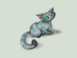 Chaeshire cat by nutJT