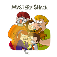 Mystery Shack Inc. by itsaaudra