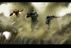 HALO Fall of reach by jose144