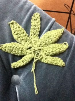 crochet leaf1 by Clix69