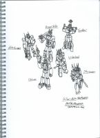 TF Story Panels - The War Bots! by TopHatProductions115