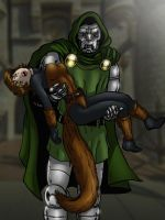 The BEATABLE Squirrel Girl vs. Doctor Doom! by cuttlesquid