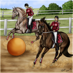 Horseball by Tigra1988