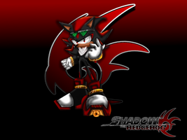 shadow the hedgehog wallpaper thing by Animal-Lover52