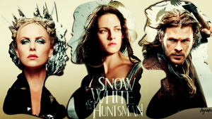 Snow White and The Huntsman Wallpaper by theanyanka