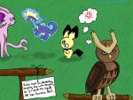 Pokemon Shaming: Noctowl by Silverstripe24