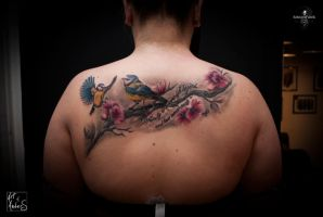 Birds by Anderstattoo