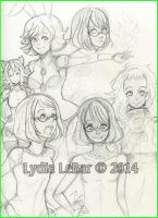 Lilly-Lamb 2014 Sketchies 1 by Lilly-Lamb