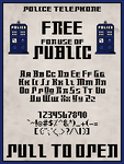 Whovian Pixel Font by SparklyDest