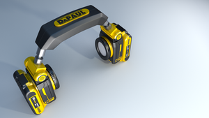 DeWalt Headphones by Kryscot