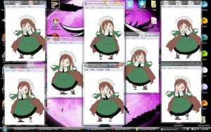 Desu-chan has Invaded my PC by kyon9854
