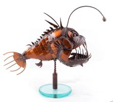 Angler fish by GADINKI