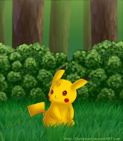 A Wild Pikachu Has Appeared by KteaCrumpet