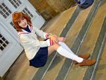 Waiting for Someone Special - Nagisa (Clannad) by Akina-chan-Cosplay