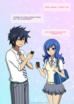 Texts from you- Gruvia by Destiny1027