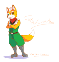 Fox McCloud by Marre-Chan95