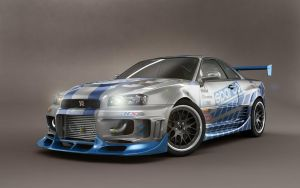 Nissan Skyline Studio Shoot by stefanmarius