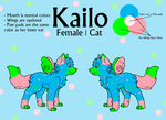 Kailo Reference Sheet by TimidFawn
