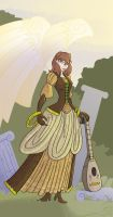 Lady of the Lute by Beanjamish