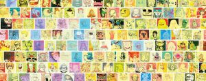 a bunch of post its. by lanbridge