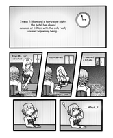 Round 11: part 1 comic form by Mifmemo