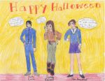 Halloween at the Academy yay by SerinaElric