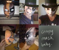 Creepy Mask, Baby by TheBoyofCheese