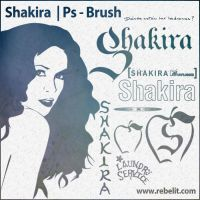Shakira Brush Set by alinema