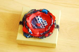 Upcycled Flower Hair Clip by BoutiqueVintage72